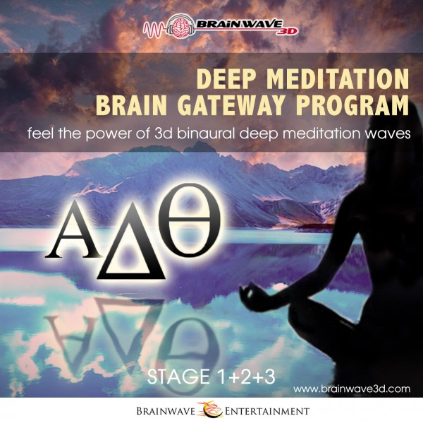 Tiefenmeditation gateway programm Meditation mit Frequenzen und binauralen Beats alpha theta delta