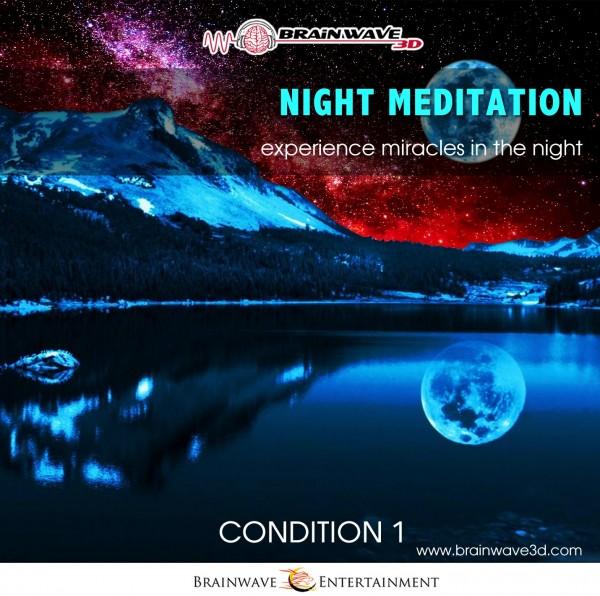 Nacht Meditation - Geführte Meditation die dein Bewusstsein erweitert