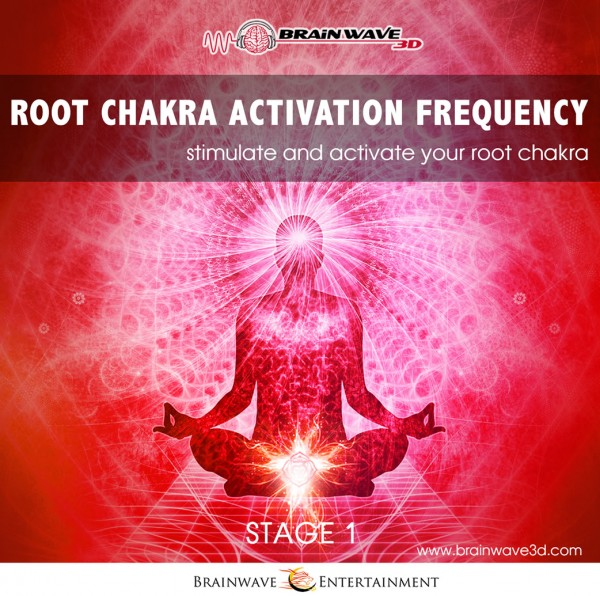 Wurzel chakra öffnen, aktivieren, meditation, frequenz, binaurale beats