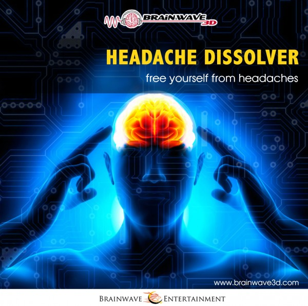 Kopfschmerzen frequenz binaurale beats beseitigen lindern was tun cd mp3