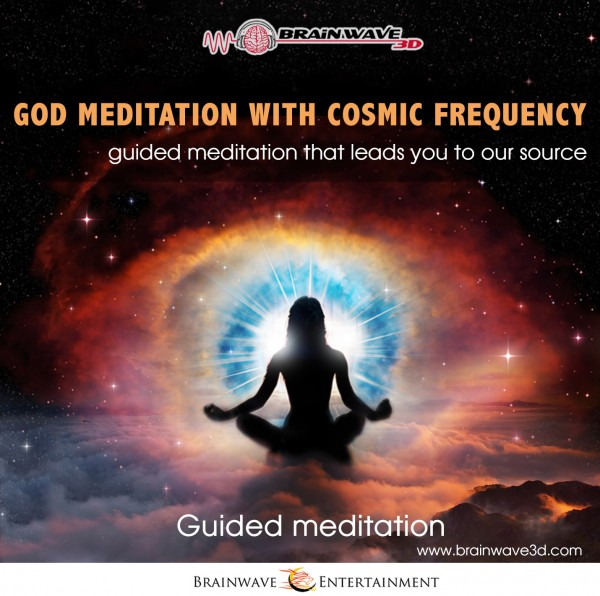 God meditation with cosmic frequency - Gottesmeditation